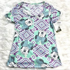 LuLaRoe New Classic T Disney Minnie Mouse Tee Top